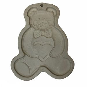 The Pampered Chef Cookie Mold -Teddy Bear 1991 USA